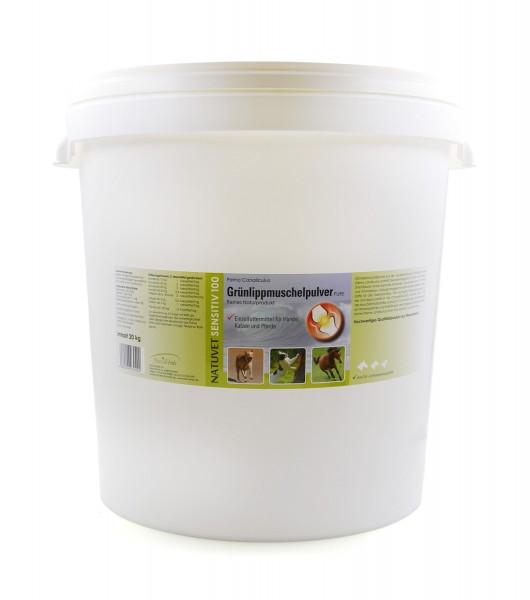Grünlippmuschelpulver, 20kg, der große Eimer - günstig bei hohem Verbrauch