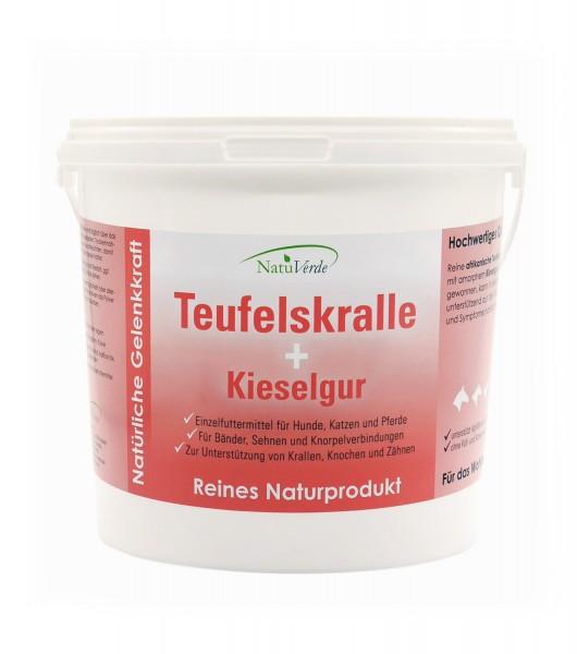 Teufelskralle plus Kieselgur 1000 g