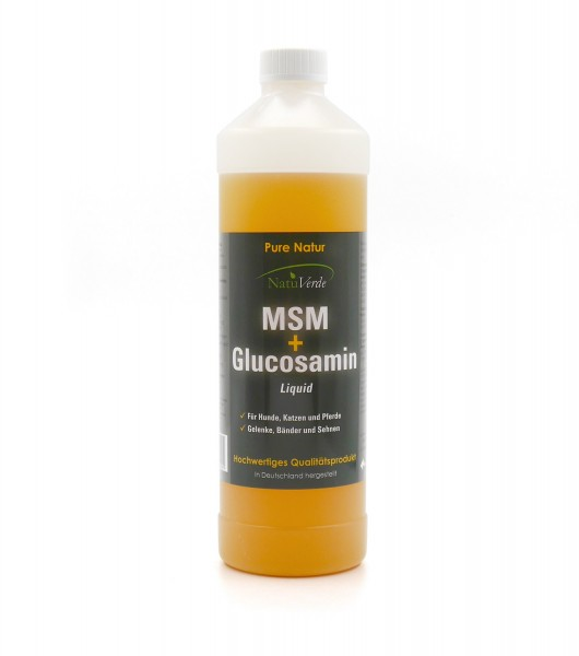 MSM plus Glucosamin Liquid 1l